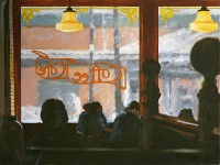 Coffee Cafe, 2010, 30 x 40""