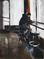 Room at the Bar, 2011, 24 x 18""