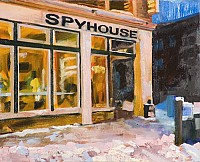 Spyhouse, 2009, 16 x 20""